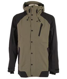 Oakley Apache Biozone Ski Jacket Worn Olive
