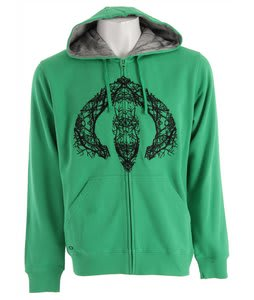 Oakley Arctic Wood Hoodie Solar Green