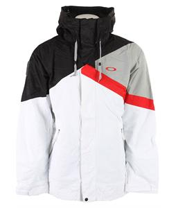 Oakley Ascertain Insulated Snowboard Jacket White