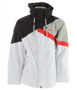 Oakley Ascertain Snowboard Jacket White