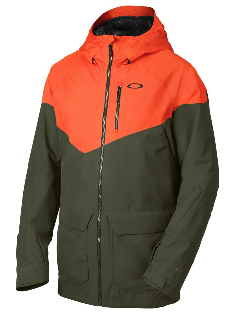 oakley jacket  On Sale Oakley Badlands Gore-Tex Biozone Down Snowboard Jacket up ...