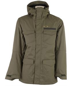 Oakley Battalion Insulated Snowboard Jacket Worn Olive