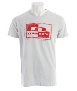 Oakley Block It T-Shirt Crystal Gray