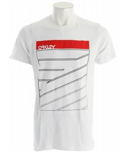 Oakley Broken Lines T-Shirt White