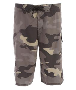 Oakley Camouflage Boardshorts Olive Camo