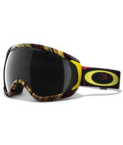 Oakley Canopy Goggles Stumped Rasta/Dark Grey Lens