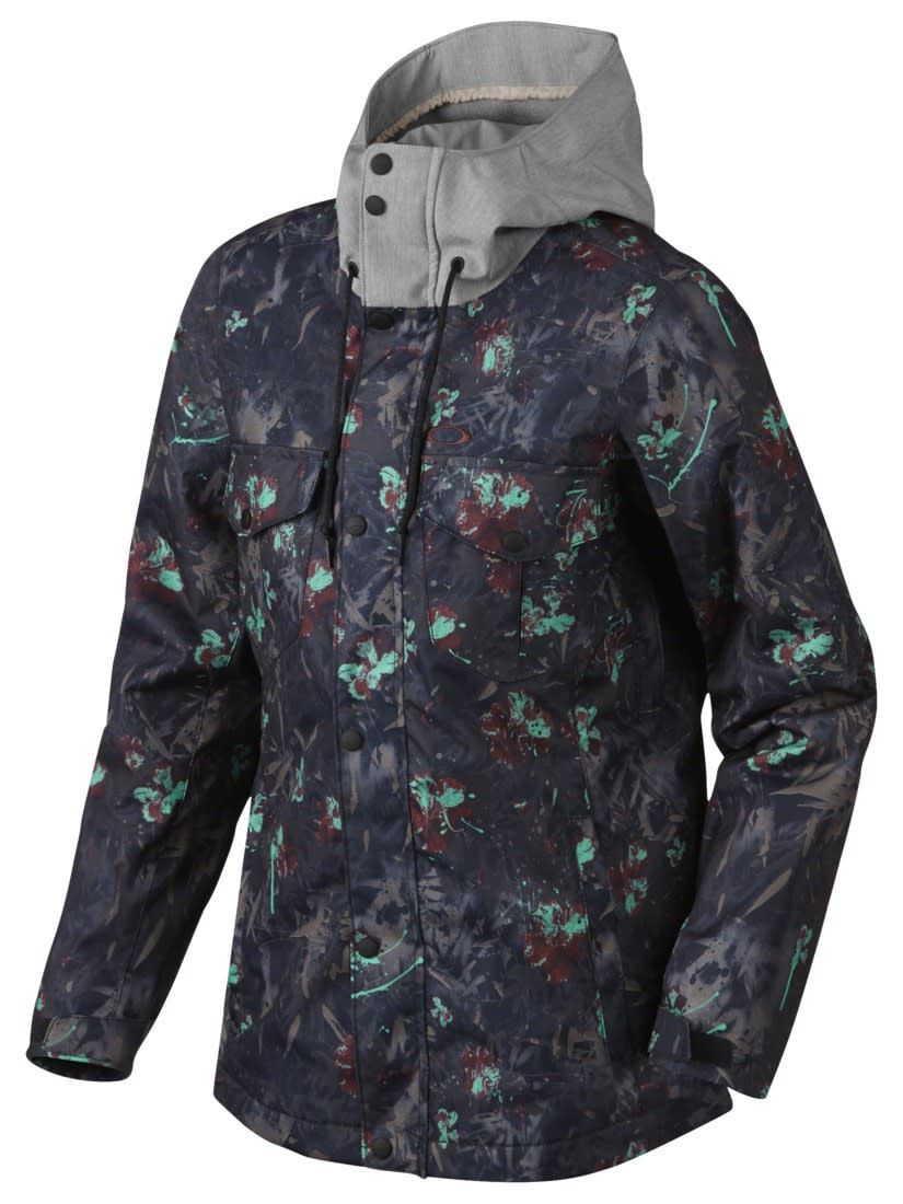 Oakley Charlie 2 Biozone Insulated Snowboard Jacket - On Sale Oakley Womens Snowboard Jackets - Snowboarding Jacket