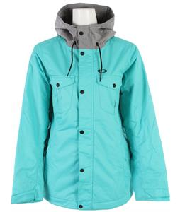 Oakley Charlie Snowboard Jacket Turquoise