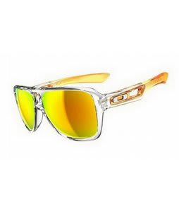 Oakley Dispatch II Sunglasses Persimmon Fade/Fire Iridium Lens