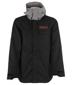 Oakley Division Insulated Snowboard Jacket Jet Black