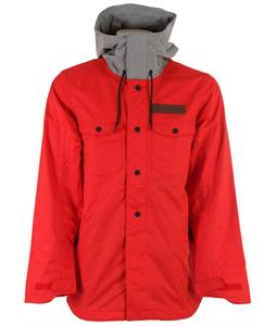 Oakley Division Insulated Snowboard Jacket Red Line