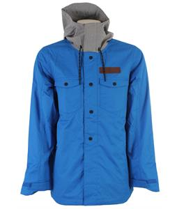 Oakley Division Insulated Snowboard Jacket Skydiver Blue