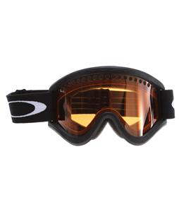 Oakley E Frame Goggles Black/Persimmons (Dual)