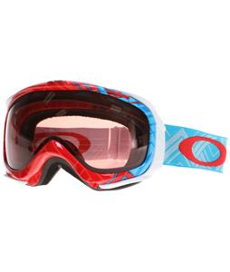 Oakley Elevate Goggles Braided Blue Red/Rose Lens
