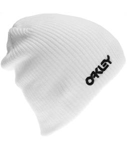 Oakley Factory Flip Beanie White