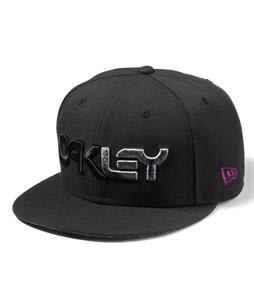 Oakley Factory Pilot Snap Back Print Cap Black