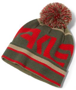 Oakley Factory Pom Beanie Red Line
