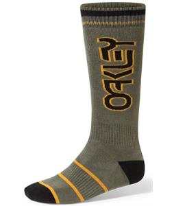 Oakley Factory Winter Socks Worn Olive
