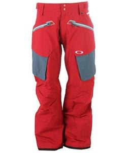 Oakley Fairhaven Snowboard Pants New Crimson