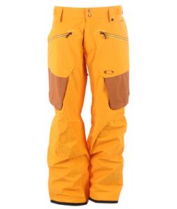 Oakley Fairhaven Snowboard Pants Golden Poppy