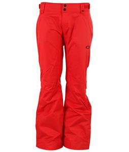 Oakley Fleet Snowboard Pants Red Line