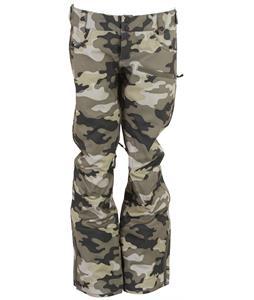 Oakley Foxtrot Soft Shell Snowboard Pants Olive Camo