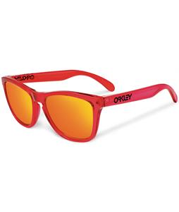 Oakley Frogskins Sunglasses Acid Blue/Red Iridium Polarized Lens