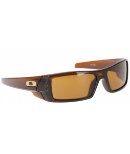 Oakley Gas Can Sunglasses Polished Rootbeer/Bronze Lens 