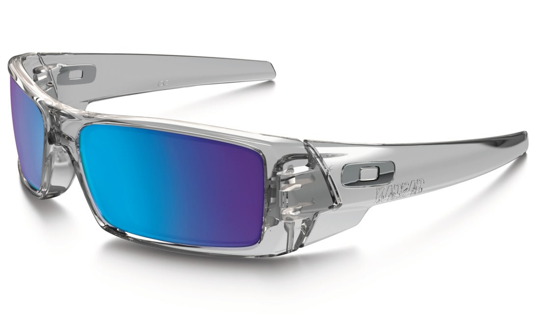 oakley sunglasses lifetime warranty  oakley gascan sunglasses polished clear sapphire iridium lens