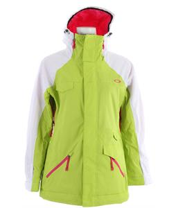 Oakley Grete Insulated Snowboard Jacket Lightning Green