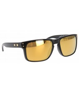 Oakley Holbrook Shaun White Sunglasses Polished Black/24K Gold Iridium Lens