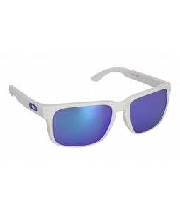 Oakley Holbrook Sunglasses Matte White/Violet Iridium Lens
