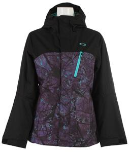 Oakley Kilo Insulated Snowboard Jacket Helio Purple Forest
