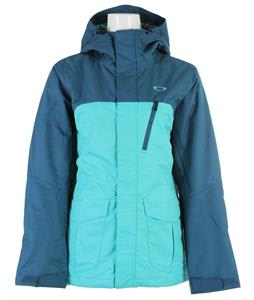Oakley Kilo Insulated Snowboard Jacket Turquoise