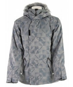 Oakley Navies Snowboard Jacket Grey/L Blue