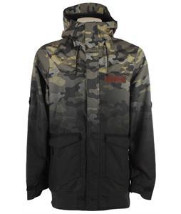 Oakley Nighthawk Biozone Snowboard Jacket Olive Camo Fade