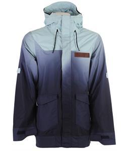 Oakley Nighthawk Biozone Snowboard Jacket Sterling Blue Fade