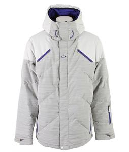 Oakley Nose Out Snowboard Jacket Crystal Gray