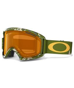Oakley O2 XL Goggles High Country Green Camo/Persimmon Lens