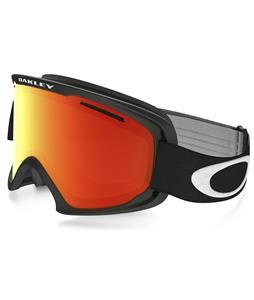 Oakley O2 XL Goggles Matte Black/Fire Iridium Lens