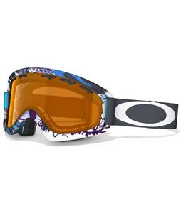 Oakley O2 XS Goggles Mountain Monster Turquoise/Persimmon Lens