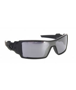 Oakley Oil Rig Sunglasses Matte Black/Black Iridium Lens