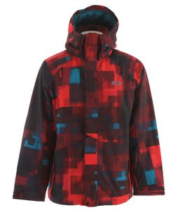 Oakley Originate Lite Snowboard Jacket Red Line