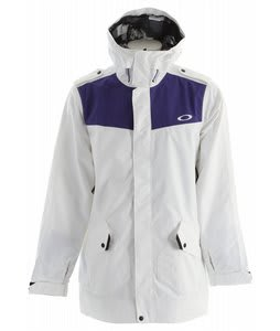 Oakley Originate Long Snowboard Jacket White