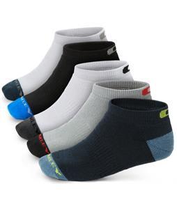 Oakley Performance Basic Low Cut 5 Pack Socks