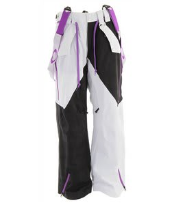Oakley Preferred Ski Pants White/Black Tracks