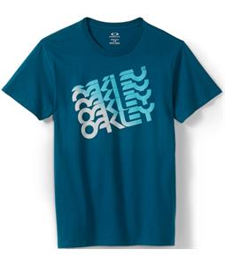 Oakley Quad Factory T-Shirt Moroccan Blue