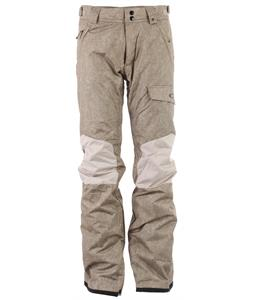 Oakley Rykkinn Snowboard Pants Wood Gray