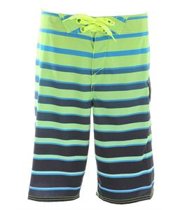 Oakley Saba Bank Boardshorts Neon Yellow
