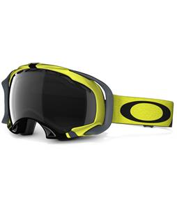 Oakley Splice Goggles Flight Series Lime Black/Dark Grey Lens